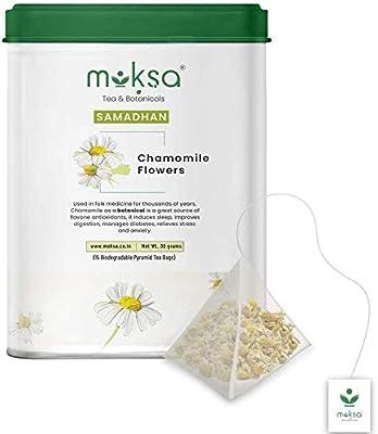 Moksa Tea & Botanicals Moksha Tea Chamomile Tea with Pure ...