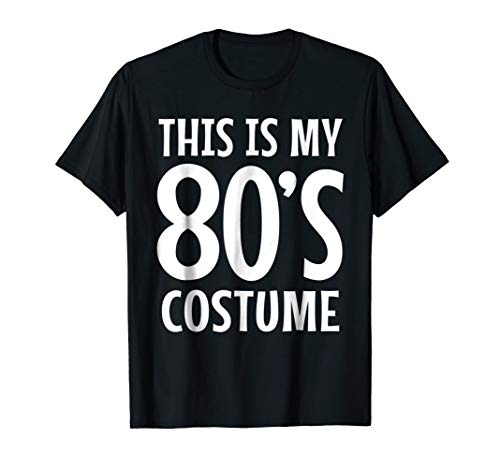 80s Costume Shirt 1980s Theme Clothes 80s Party Tshirt