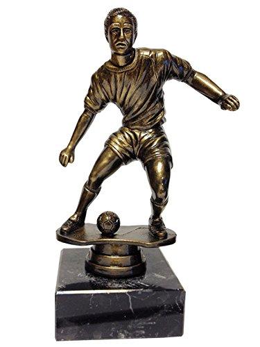 Trofeo fútbol económico futbolista con balón: Amazon.es: Deportes ...