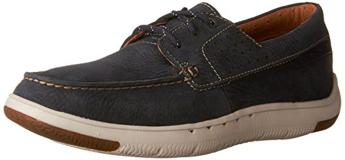Men's Boat Edge CLARKS Shoes Navy Unmaslow ORqpqfwz