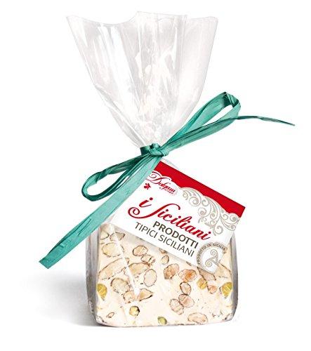 Soft Almond (iSiciliani Italian Almond & Pistachio Torrone Nougat Block Soft 300g. (10.5oz.))