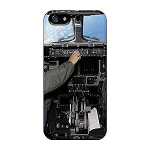 JonathanMaedel Iphone 5/5s Shock-Absorbing Hard Phone Case Unique Design Fashion Cockpit Skin [BJI18725mMUF]