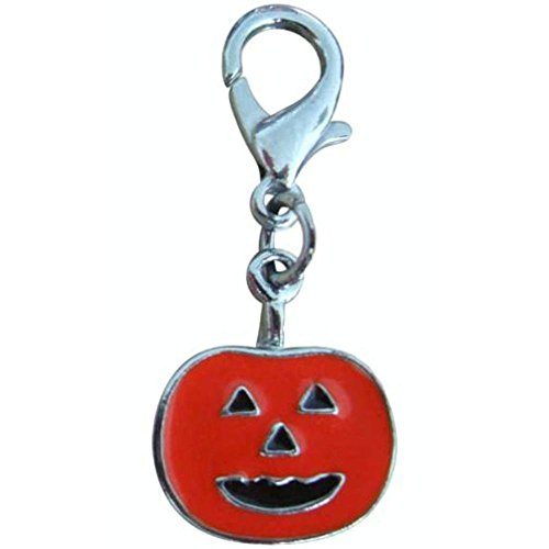 Mirage Pet Products Halloween Lobster Claw Charms/Zipper Pulls Pumpkin one