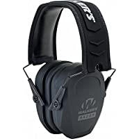Walker's Razor Slim Passive Earmuff (Choose Your Color) Ultra Low-Profile Earcups - Shooting Hearing Protection