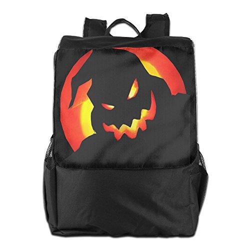 Oogie Mr Boogie Costume (Mr. Oogie Boogie Horror Movie Casual College Backpack Laptop Bag School Travel)