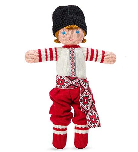 12' Rag Doll - Ukrainian Folk Doll, in Boy