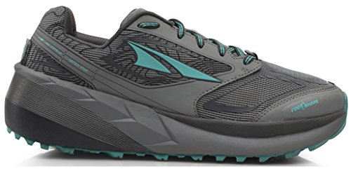Altra AFW1859F Women's Olympus 3 Trail Running Shoe, Gray/Teal - 10.5 B(M) US by Altra (Image #1)