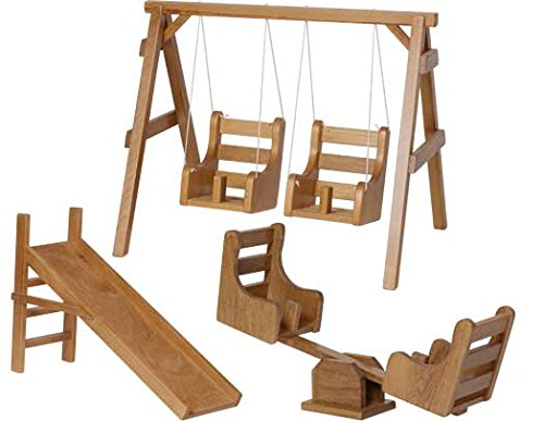 Adorable Doll Playground Set - Perfect for Your Little GirlHarvest American Made by Amish