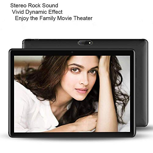 3G Unlocked Tablet PC with Dual Sim Sard Slots, Dual Camera Quad-Core Processor, 32GB Storage, 10 Inch HD IPS Display, 1.2Ghz Phone Tablet PC with Capacitive Pen WiFi GPS