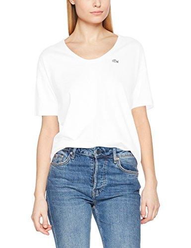 blanc Lacoste Donna shirt Blanc T wxZ4gqX