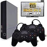 QUMOX Consola de Videojuegos de 4K HD Mini TV incorporada 800 Juegos clásicos de HDMI Gamepad Dual