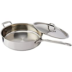 Stainless 5-1/2-Quart Saute Pan