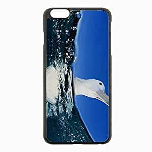iPhone 6 Plus Black Hardshell Case 5.5inch - water sea swim Desin Images Protector Back Cover