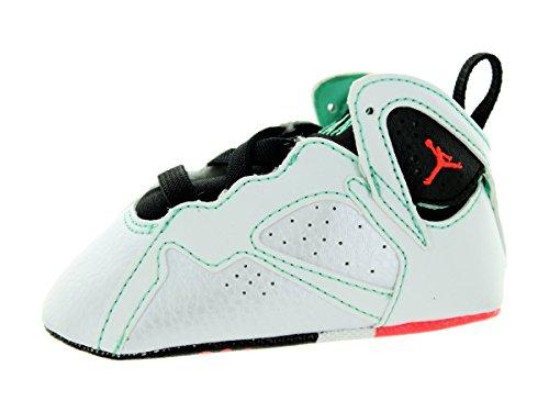 Nike Jordan Toddler Jordan 7 Retro Gift Pack White/Infrared 23/Black/Verde Basketball Shoe 4 Infants US - Jordan Shoes Pack