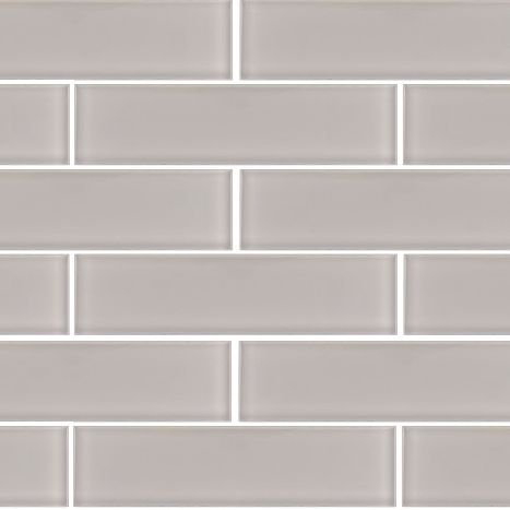 3''x12'' Taupe Crystal Glass Subway Tile For Kitchen Bathroom Shower Spa Wall (Box of 5 sq ft $79) by Tile Depot