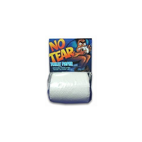 No- Tear Toilet Paper Roll-bag W/header