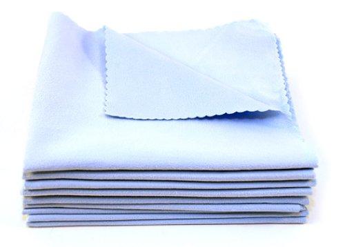 Suede Microfiber Clean - Carpro Suede Microfiber Cloths 40 X 40 Cm, 10 Pack