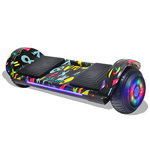 Amazon.com: Longtime Hoverboard - Patinete con luces LED y ...