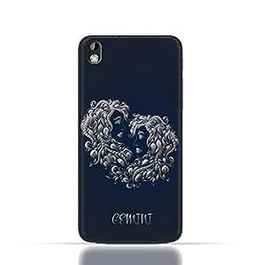 HTC Desire 816 TPU Silicone Case with Zodiac-Sign-Gemini Design