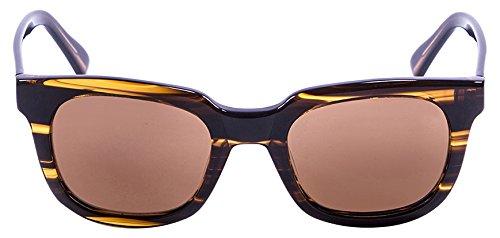 Lenoir Eyewear LE61000.3 Lunette de Soleil Mixte Adulte, Marron