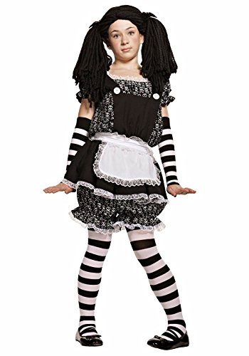 Starline Teen Gothic Dolly RAG Doll Halloween Costume Girls X-Large -