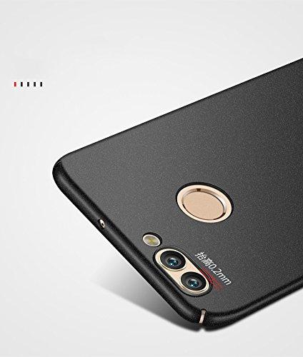 Funda Huawei Nova 2,Wouier® con Bumper Carcasa pulgadas 360° Case Anti-rasguños Estuche PC ultrafina Slim Protectora Caso de la Cubierta para Huawei Nova 2 Negro