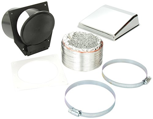 Price comparison product image Westland VID403AC Sales Deluxe Dryer Vent Kit With Chrome Vent Cover