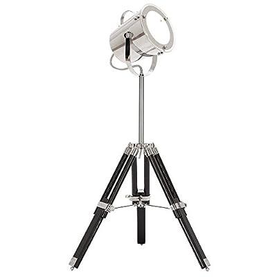 Urban Designs Industrial Adjustable Studio Tripod Table Lamp