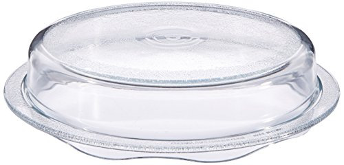 COVER 'n COOK Microwave Glass Plate Cover by Cuchina (Glass Vegetable Bowl)