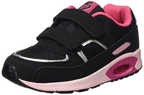 BEPPI 2152573, Zapatillas de Deporte Para Niños Negro (Preto)