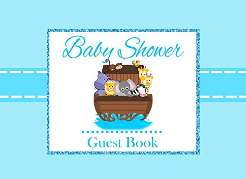 Baby Shower Guest Book: Noahs Ark Advice for Parents and Gift ()