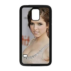 C-EUR Customized Print Anna Kendrick Hard Skin Case Compatible For Samsung Galaxy S5 I9600