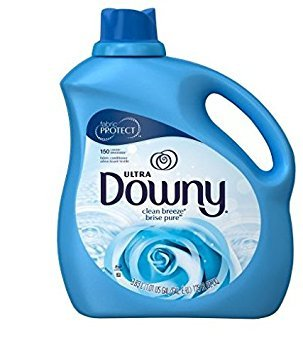 (Ultra Downy Clean Breeze Brise Pure Liquid Fabric Softener, 129 fl oz (1))