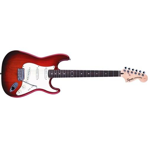 Squier Standard Stratocaster - Cherry Sunburst with Rosewood Fingerboard