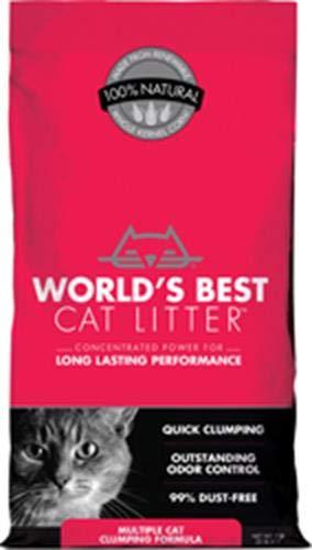 World's Best Cat Litter, Multiple Cat Clumping Formula, 7 lbs