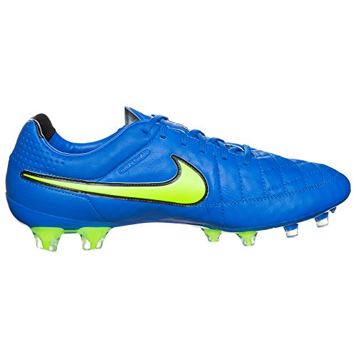 Nike Tiempo Légende Vfg 631,518 Hommes Chaussures De Football Bleu Formation