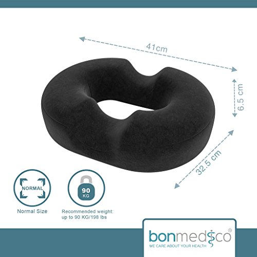 -[ bonmedico® orthopaedic surgical ring / donut pillow with innovative gel cushion for relief o