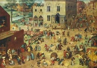 - Wentworth Children's Games 500 Piece Pieter Bruegel the Elder Wooden Jigsaw Puzzle