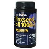 Melrose Organic Flaxseed Oil 1000mg 250 Softgel Capsules