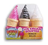 Ice Cream Scented & Shaped Bubble Set - 3 Count