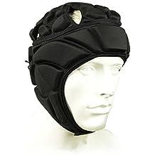 COOLOMG Men's Sport Goalkeeper Adjustable Soccer Goalie Helmet Head Protector Support