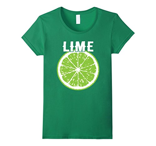 Womens Tequila, Lime and Salt Matching Costume Halloween T-Shirt Large Kelly Green