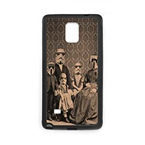 Stormtrooper Series, Samsung Galaxy Note 4 Case, the Imperial Family of Soldiers Case for Samsung Galaxy Note 4 [Black]