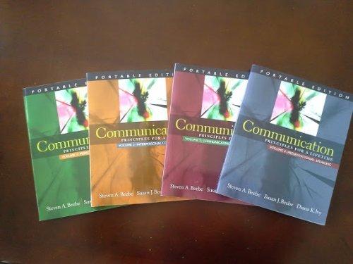Communication Principles for a Lifetime (portable edition, vol 1-4) pdf