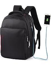 """VBIGER Zaino PC Zaino Porta PC Zaino Scuola Impermeabile Zaino per Computer portatile Con Caricatore USB 14"""""""