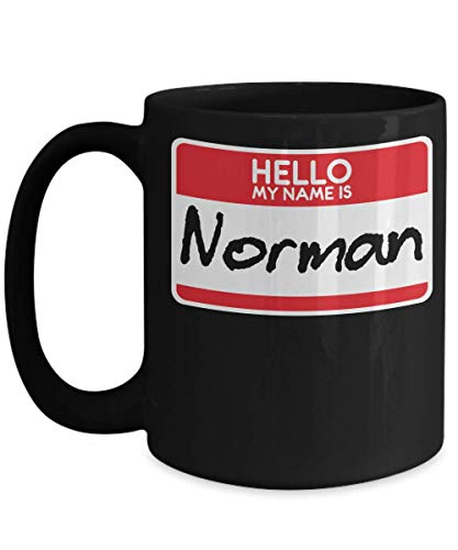 My Name Is Norman Horror Film Halloween Costume Trick or Treat Gift Film Buffs Scary Mug | Simple Halloween Costume Idea