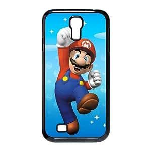 Super Mario Bros 004 Samsung Galaxy S4 9500 Cell Phone Case Black TPU Phone CaseRV_721110