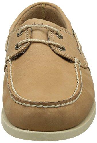 Timberland Cedar Bay Boat Shoe, Náuticos Para Hombre Beige (Biscuit Camper)