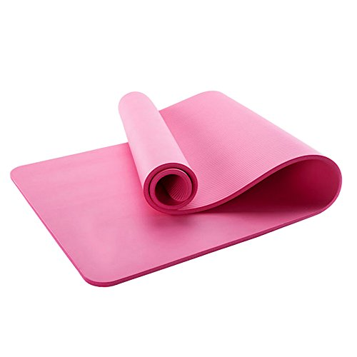 Cheap Ezyoutdoor 6mm Sports Yoga Mat & Music For Meditation CD Relaxation Fitness Health, Yoga Mat Pink Non-Slip Exercise Pad Pilates Workout L71″X W23″ pink
