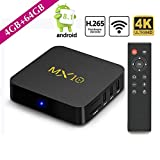 Best Android Streaming Boxes - SF Newest Android TV Box DDR4 4G+32GB,4K Android Review